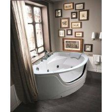 Гидромассажная ванна Black&White GB5008R( правый угол)