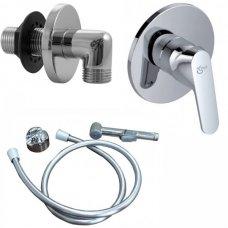 Гигиенический комплект IDEAL STANDARD Seraplan 2 и гигиенический душ Ideal standard