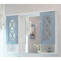 "Зеркало ""Duglas 105"" патина голубая"