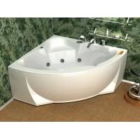 Акриловая ванна  AQUATEK Полярис-1 138х138 (Ванна, каркас,  панель и слив-перелив)