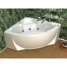 Акриловая ванна  AQUATEK Полярис-1 138х138( Ванна, каркас,  панель и слив-перелив )