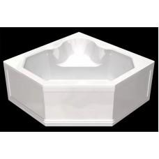 Акриловая ванна  AQUATEK Лира 150х150( Ванна, каркас,  панель и слив-перелив )