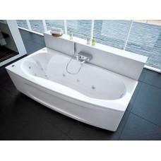 Акриловая ванна  AQUATEK Пандора 160х75 (Ванна, каркас,  панель и слив-перелив)