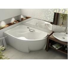 Акриловая ванна  AQUATEK Вега 170х105 (Ванна, каркас,  панель и слив-перелив)