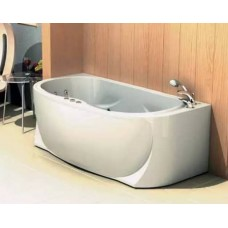 Акриловая ванна  AQUATEK Мелисса 180х95 (Ванна, каркас,  панель и слив-перелив)