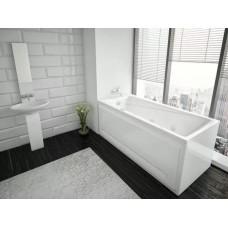 Акриловая ванна  AQUATEK Оберон 160х70 (Ванна, каркас,  панель и слив-перелив)