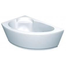 Акриловая ванна  AQUATEK Аякс-2 170х110 (Ванна, каркас,  панель и слив-перелив)