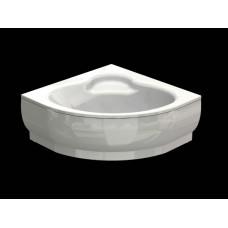 Акриловая ванна  AQUATEK Калипсо 146х146( Ванна, каркас,  панель и слив-перелив )