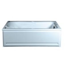 Акриловая ванна  AQUATEK Леда 170х80 (Ванна, каркас,  панель и слив-перелив)
