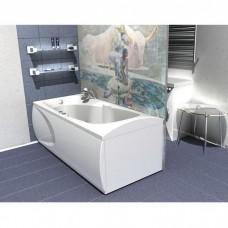 Акриловая ванна  AQUATEK Европа 180х80( Ванна, каркас,  панель и слив-перелив )