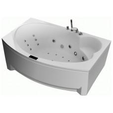 Акриловая гидромассажная ванна GNT  BOHEMIA 190 x 110 Elementaty Jet/Air