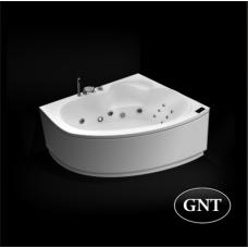 Акриловая гидромассажная ванна GNT  Grace 150 x 100 Elementaty Jet/Air