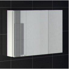Зеркало-шкаф Ingenium Axioma  80 белый глянец