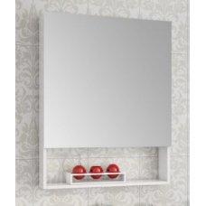 Зеркало-шкаф Ingenium Fusion 60 белый глянец