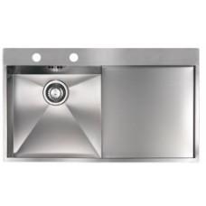 Кухонная мойка из стали REGINOX Ontario L 10 Lux OKG left