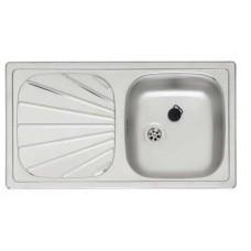 Кухонная мойка из стали REGINOX Beta 10 Linen OSP