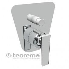 Смеситель встраиваемыйванно-душевой  TEOREMA Code