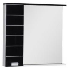 Зеркало Aquanet Доминика 90 LED R бело/черное