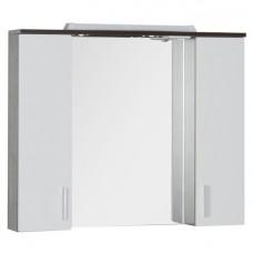 Зеркало Aquanet Тиана 90 венге/белое