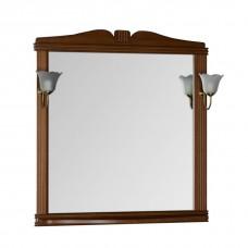 Зеркало Aquanet Николь 90 орех без светильника
