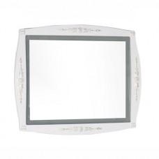 Зеркало Aquanet Виктория 90 белое глянец/золото