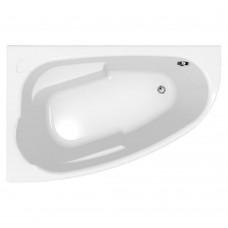 Акриловая ванна Cersanit Joanna 150x95 L ультра белый цвет