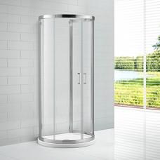 Душевой уголок Cezares Eco O 2 100/85 C Cr прозрачное стекло, профиль хром