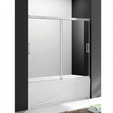 Шторка для ванны Cezares Tandem Soft VF2 170/145 C Cr прозрачное стекло, профиль хром IV