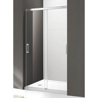 Душевая дверь Cezares Tandem-Soft BF-2-120-C-Cr-IV прозрачное стекло, профиль хром