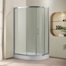 Душевой уголок Cezares Porta Porta D-RH-2-120/90-P-Cr матовое стекло, профиль хром