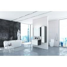 Зеркальный шкаф Roca Ronda 60 белый глянец/антрацит ZRU9302968