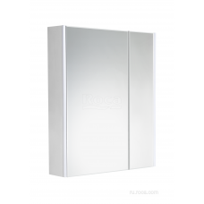 ZRU9303007 Ronda Зеркальный шкаф, бетон / белый глянец 600 x 145 x 780