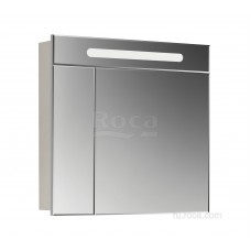 Зеркальный шкаф Roca Victoria Nord 80 белый глянец ZRU9000033