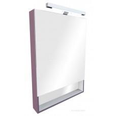 ZRU9302753/ZRU9000089 Gap зеркальный шкаф 80 см, фиолет ПВХ