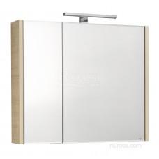 Зеркальный шкаф Roca Etna 80 дуб верона 857304445