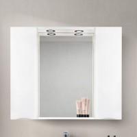 Зеркало BelBagno Marino SPC-1000/750-2A-BL-P Bianco Lucido