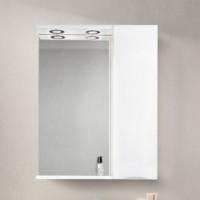 Зеркало BelBagno Marino SPC-600/750-1A-BL-P-R Bianco Lucido