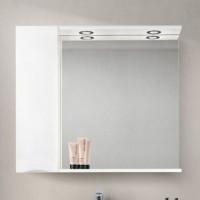 Зеркало BelBagno Marino SPC-900/750-1A-BL-P-L Bianco Lucido