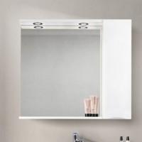 Зеркало BelBagno Marino SPC-900/750-1A-BL-P-R Bianco Lucido