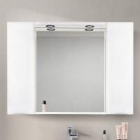 Зеркало BelBagno Marino SPC-1200/750-2A-BL-P Bianco Lucido