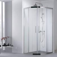 Душевой уголок Aquanet Delta NPE2142 100x100, прозрачное стекло без поддона