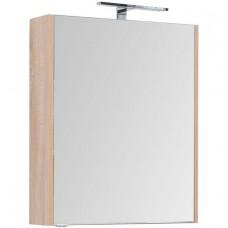 Зеркальный шкаф Aquanet Остин 65 дуб сонома