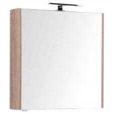 Зеркальный шкаф Aquanet Остин 75 дуб сонома