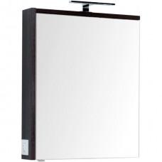 Зеркальный шкаф Aquanet Фостер 70 белый/эвкалипт мистери