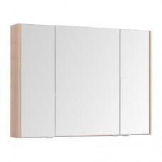Зеркальный шкаф Aquanet Остин 105 дуб сонома