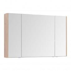 Зеркальный шкаф Aquanet Остин 120 дуб сонома