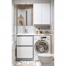 Мебель для ванной Alavann Soft 100 столешница камень белый