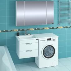 Мебель для ванной СанТа Лидер 48 подвесная, 2 ящика