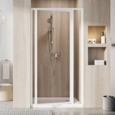 Душевая дверь Ravak SDOP-100 белая + пеарл