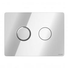 Кнопка для инсталляции Cersanit Accento Circle хром глянцевый